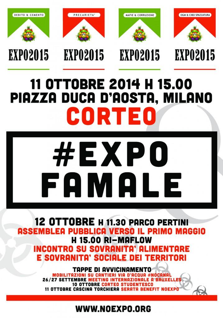 Grandi opere e megaeventi: LIBERIAMOCENE! 11/12 ottobre 2014 – Milano
