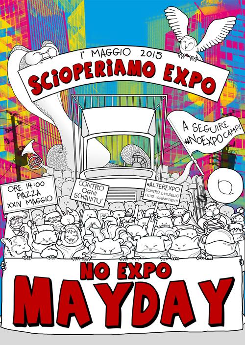 LE CINQUE GIORNATE DELLA MILANO #NOEXPO